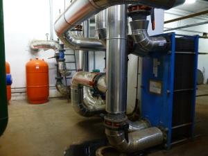 Gázmotor hővisszanyerő készüléke