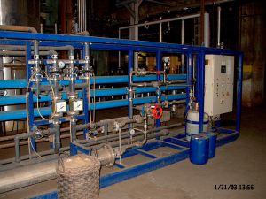 Tápvíz-előkészítő szűrő berendezés